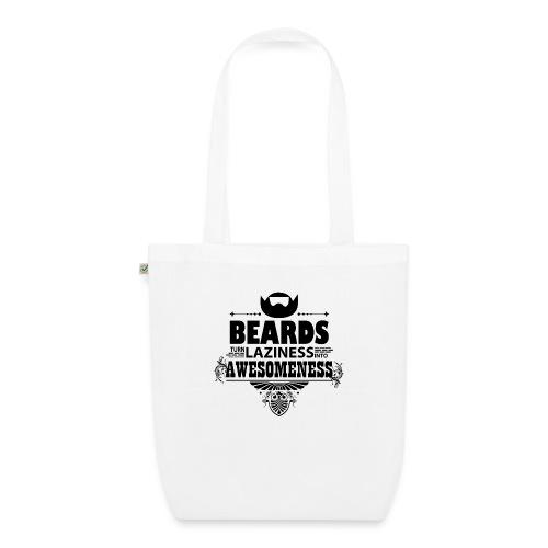beards_laziness_awesomeness 10x - Luomu-kangaskassi