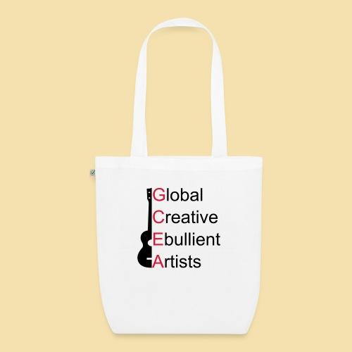 GCEA Global Creative Ebullient Artists - Bio-Stoffbeutel