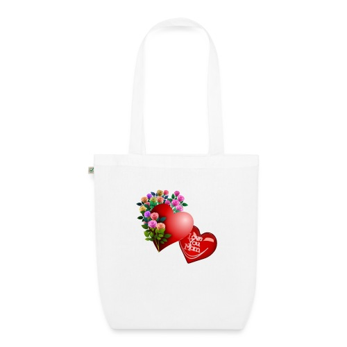 Mother's Day Love You Mom - EarthPositive Tote Bag