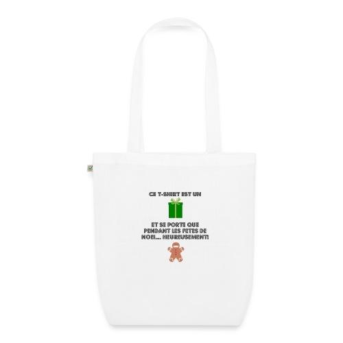 T-shirt cadeau de Noël - Sac en tissu biologique