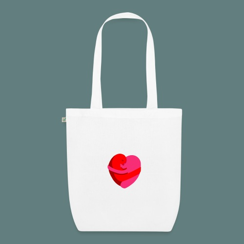 hearts hug - Borsa ecologica in tessuto