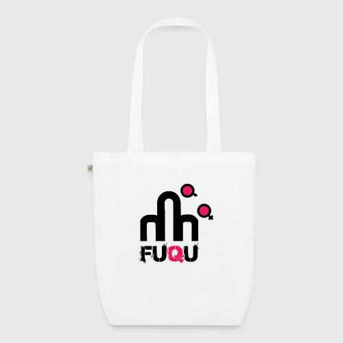 T-shirt FUQU logo colore nero - Borsa ecologica in tessuto