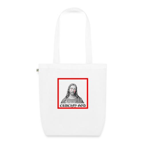 Crucify God | Sad Jesus - Luomu-kangaskassi