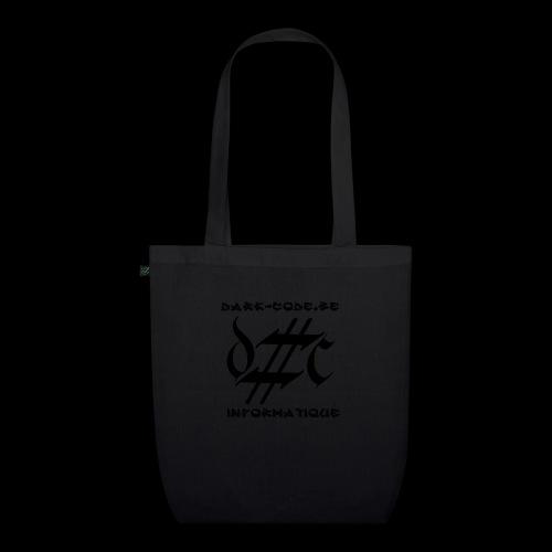 Dark-Code Black Gothic Logo - Sac en tissu biologique