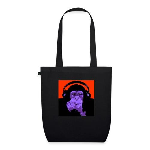 project dj monkey - Bio stoffen tas