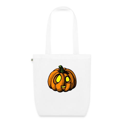 Pumpkin Halloween scribblesirii - Luomu-kangaskassi