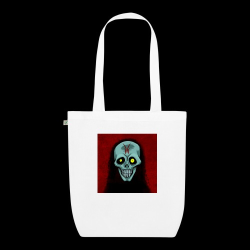 Ghost skull - EarthPositive Tote Bag