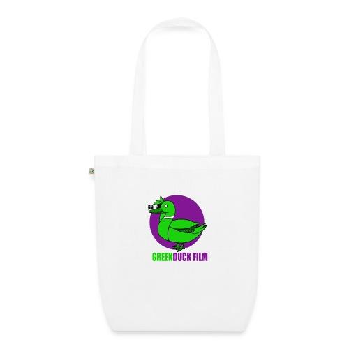 Greenduck Film Purple Sun Logo - Øko-stoftaske