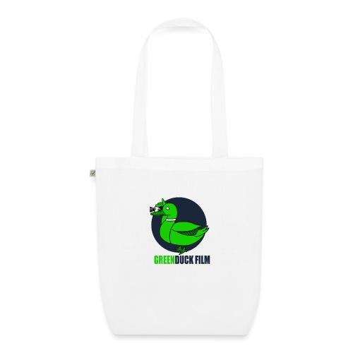 Greenduck Film Dark Blue Logo - Øko-stoftaske