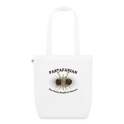 The Flying Spaghetti Monster - EarthPositive Tote Bag