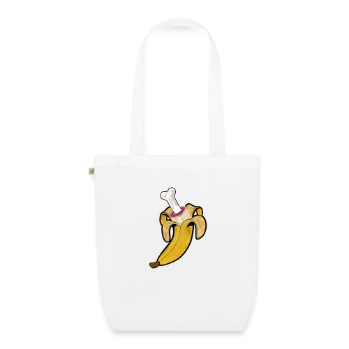 Die zwei Gesichter der Banane - Bio-Stoffbeutel