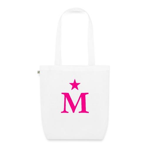 M de Moderdonia rosa - Bolsa de tela ecológica