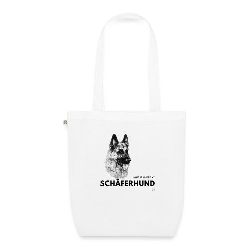 Home is where my Schäferhund is ! - Bio-Stoffbeutel
