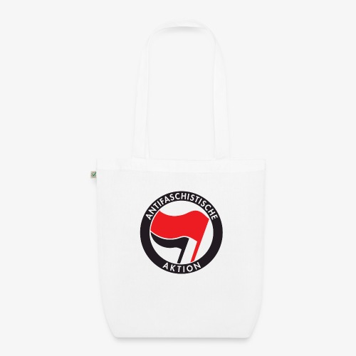 Atnifaschistische Action - Antifa Logo - EarthPositive Tote Bag