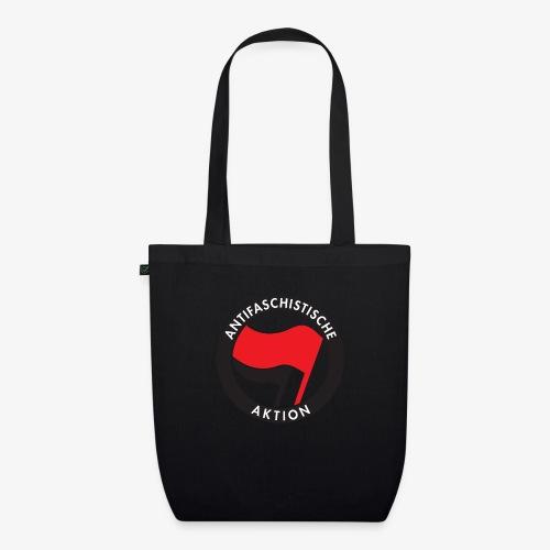 Atnifaschistische Action - Antifa Logo - EarthPositive Tote Bag