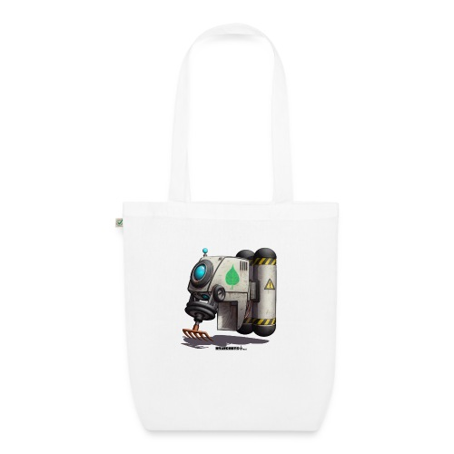 The L.E.A.F. Robot! (Leaf Eco Automated Friend). - Øko-stoftaske