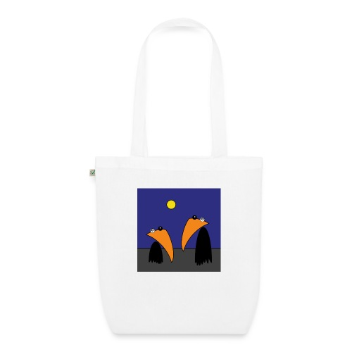 Raving Ravens - halloween - EarthPositive Tote Bag