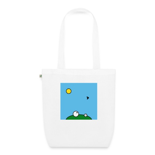 Hungry Frog - lunch time - EarthPositive Tote Bag