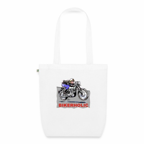 bikerholic - EarthPositive Tote Bag