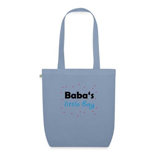 Baba's litte boy Babybody - Bio-Stoffbeutel
