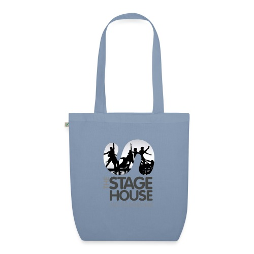 the stage house logo artwork performance - EarthPositive Tote Bag