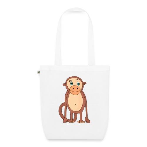 Bobo le singe - Sac en tissu biologique