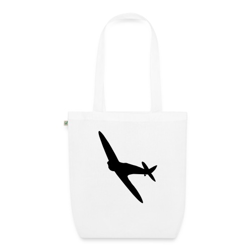 Spitfire Silhouette - EarthPositive Tote Bag
