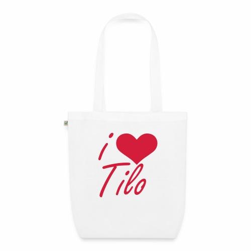 I love Tilo - Bio-Stoffbeutel