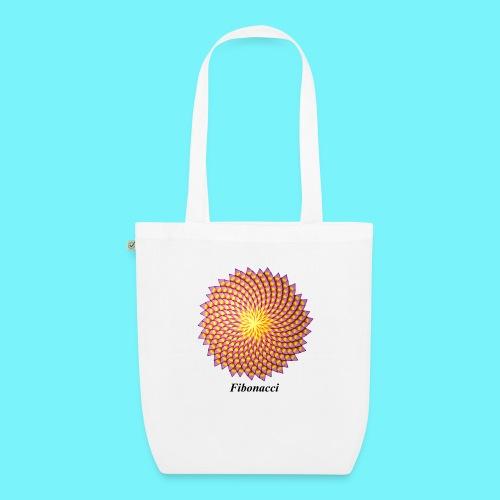 Fibonacci flower - EarthPositive Tote Bag