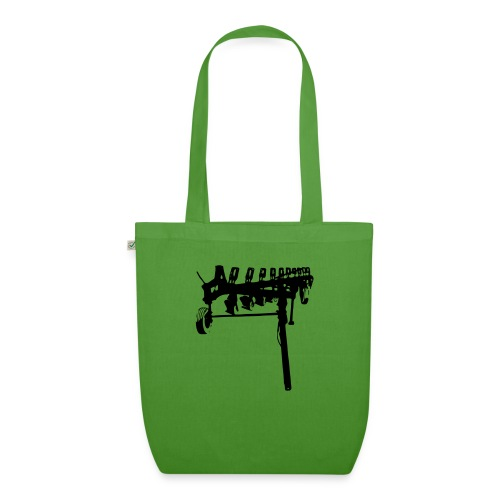 trailed plow - EarthPositive Tote Bag