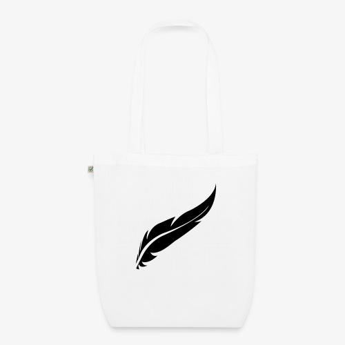 logo plume black - Sac en tissu biologique