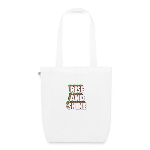 Rise and Shine Meme - EarthPositive Tote Bag