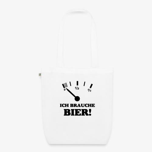 Bier Tankanzeige - Bio-Stoffbeutel