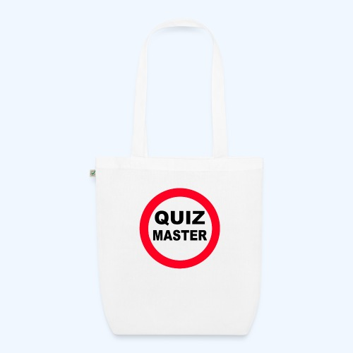 Quiz Master Stop Sign - EarthPositive Tote Bag
