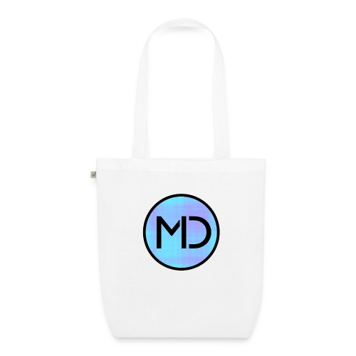MD Blue Fibre Trans - EarthPositive Tote Bag