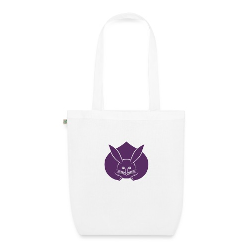 Usagi kamon japanese rabbit purple - EarthPositive Tote Bag