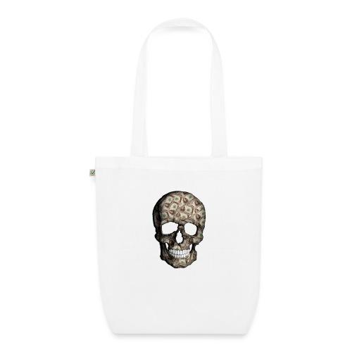 Skull Money Black - Bolsa de tela ecológica