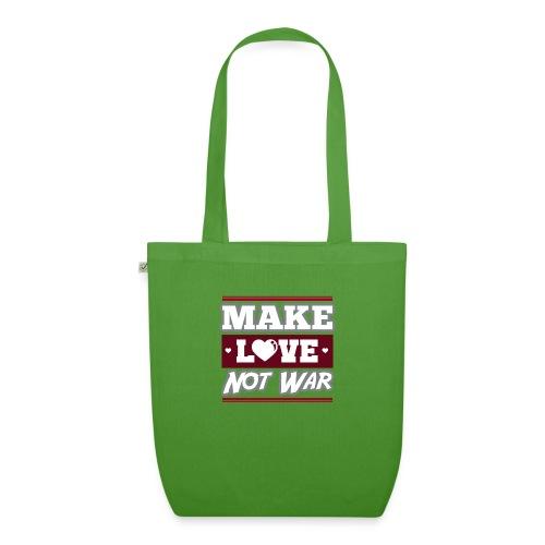 Make_love_not_war by Lattapon - Øko-stoftaske
