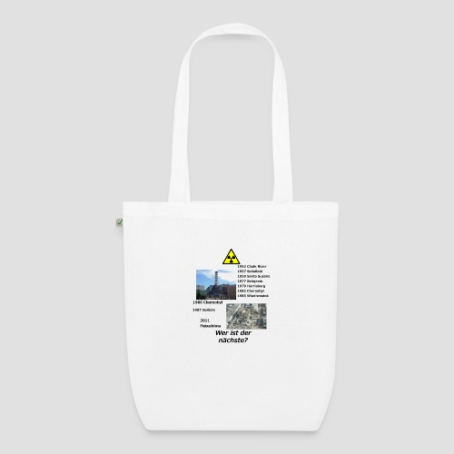 no nuclear button (German) Wer ist der Nächste? - EarthPositive Tote Bag