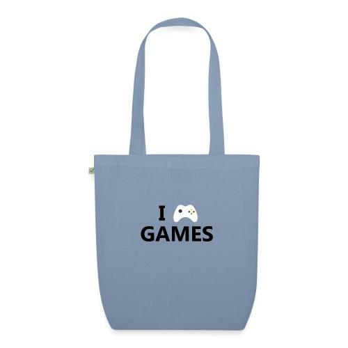 I Love Games - Bolsa de tela ecológica