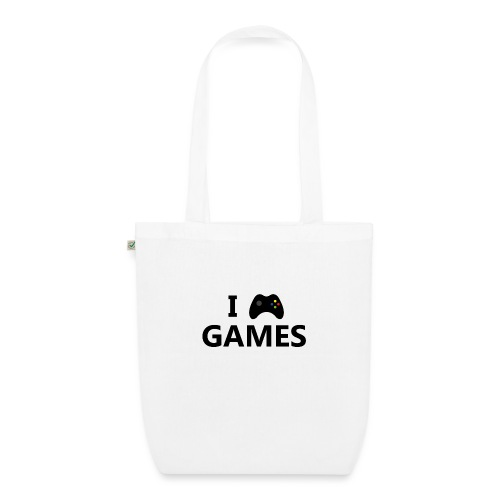 I Love Games 3 - Bolsa de tela ecológica