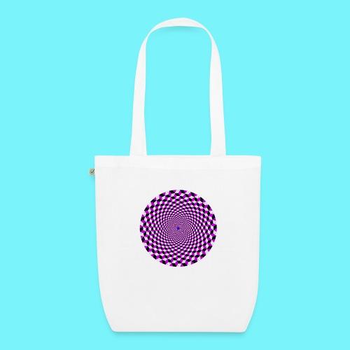 Mandala figure from rhombus shapes - EarthPositive Tote Bag