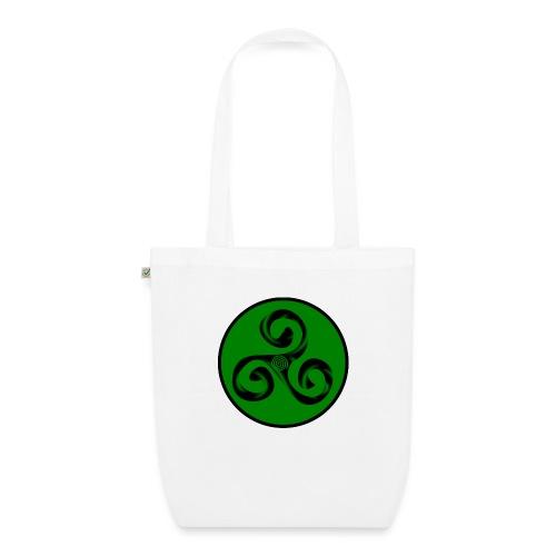 Triskel and Spiral - Bolsa de tela ecológica