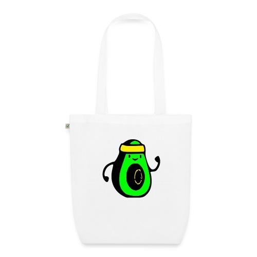 aguacate ninja - Bolsa de tela ecológica