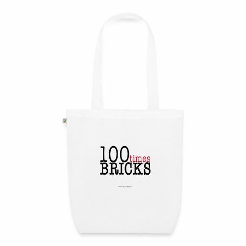 100times BRICKS - Borsa ecologica in tessuto