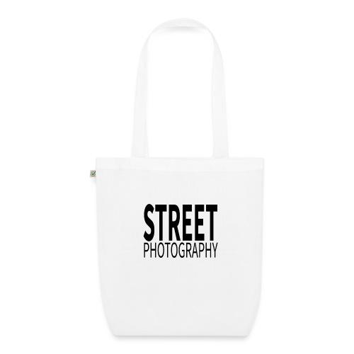 Street photography Black - Borsa ecologica in tessuto