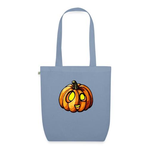 Pumpkin Halloween watercolor scribblesirii - Luomu-kangaskassi
