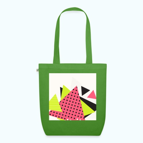 Neon geometry shapes - EarthPositive Tote Bag