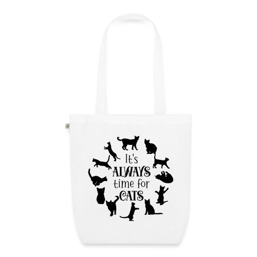Its always time for cats - Ekologisk tygväska