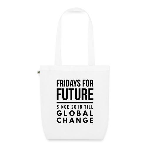 Fridays for Future till GlobalChange RescueTheBlue - Bio-Stoffbeutel
